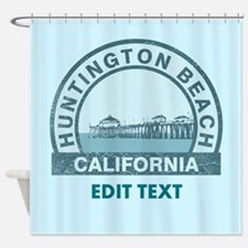Huntington Beach Shower Curtain