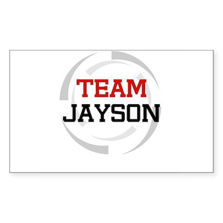 Jayson Rectangle Sticker