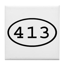 413 Oval Tile Coaster