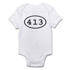 413 Oval Infant Bodysuit