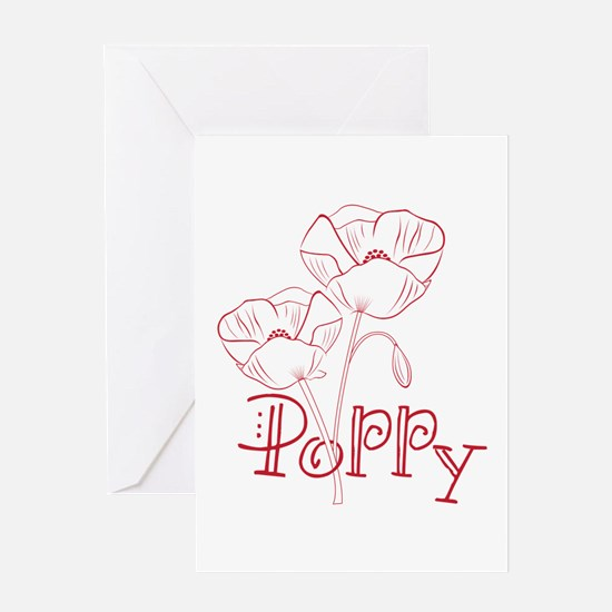 Poppy Greeting Cards
