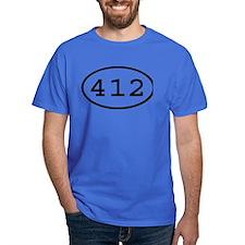 412 Oval T-Shirt