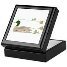 Duck Family Keepsake Box