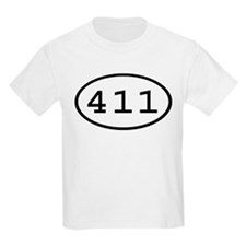 411 Oval T-Shirt