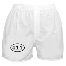 411 Oval Boxer Shorts