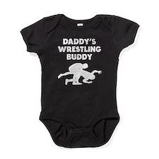 Daddys Wrestling Buddy Baby Bodysuit