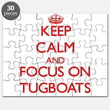 Cute Tugboat Puzzle