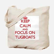 Cute Tugboat Tote Bag