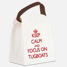 Cool Tugboats Canvas Lunch Bag