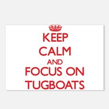 Funny Tugboats Postcards (Package of 8)