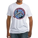 USS WITEK Fitted T-Shirt