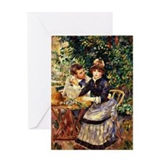 Renoir - In the Garden Greeting Card