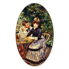 Renoir - In the Garden Decal