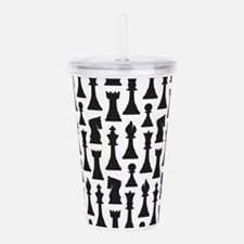 chess player Acrylic Double-wall Tumbler