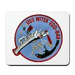 USS WITEK Mousepad