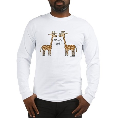 What's up? Giraffe Long Sleeve T-Shirt