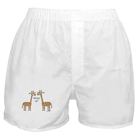What's up? Giraffe Boxer Shorts