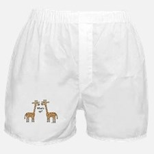 What's up? Giraffe Boxer Shorts