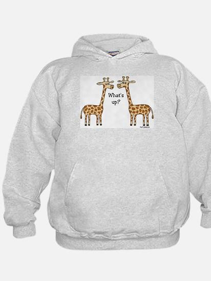 What's up? Giraffe Hoodie