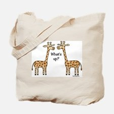 What's up? Giraffe Tote Bag