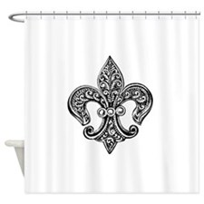 Cute Fleurs Shower Curtain