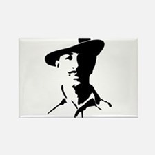 Shaheed Bhagat Singh Silhouette Magnets