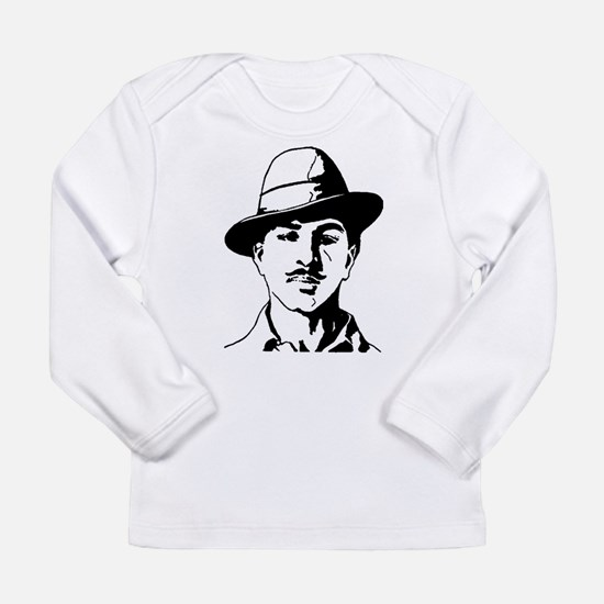 Bhagat Singh Indian Freedom Fighter Long Sleeve T-
