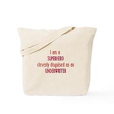 Superhero Underwriter Tote Bag