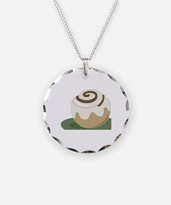 Cinnamon Roll Necklace