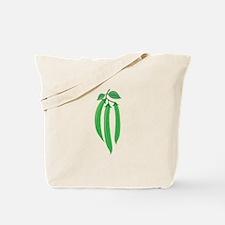Bean Stalks Tote Bag