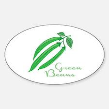 Green Beans Decal