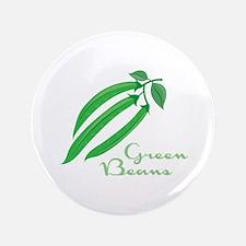 """Green Beans 3.5"""" Button"""