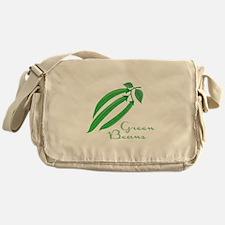 Green Beans Messenger Bag