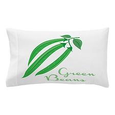 Green Beans Pillow Case