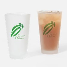 Green Beans Drinking Glass