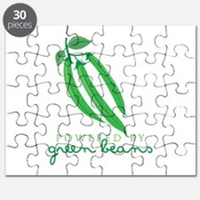Powered By Green Beans Puzzle