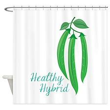Healthy Hybrid Shower Curtain