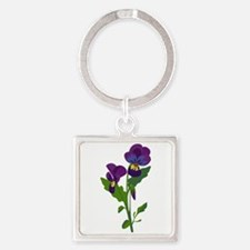 Sweet Violets Keychains
