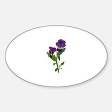 Sweet Violets Decal