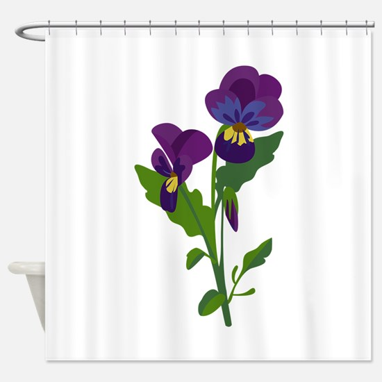 Sweet Violets Shower Curtain