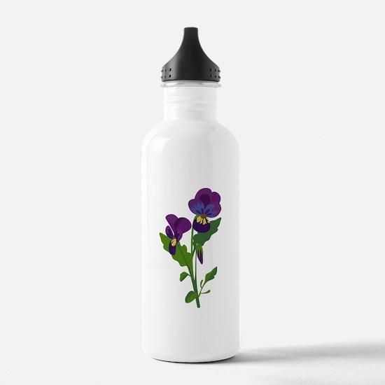 Sweet Violets Water Bottle