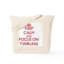 Keep calm and twirl on Tote Bag