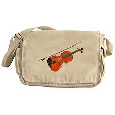 Cute Musician Messenger Bag