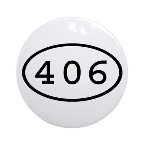 406 Oval Ornament (Round)