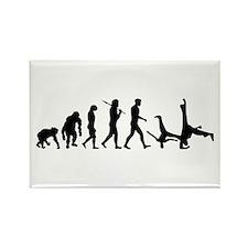 Evolution of Capoeira Rectangle Magnet