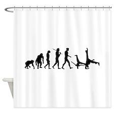 Evolution of Capoeira Shower Curtain