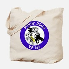 Cute Fighting dogs Tote Bag