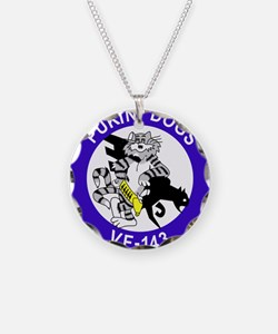 Cute Fighting dogs Necklace