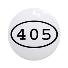 405 Oval Ornament (Round)