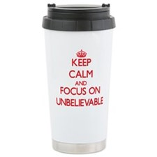 Funny Beyond belief Travel Mug
